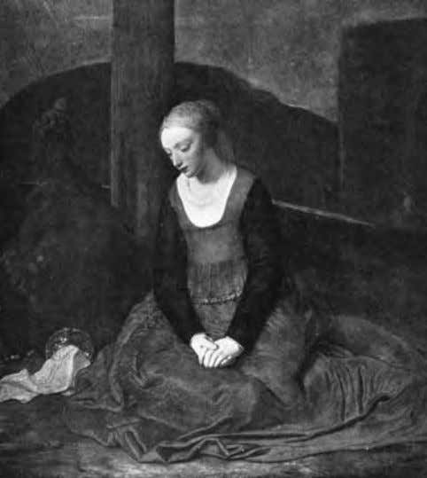 Fig. 4 . Attributed to Vermeer by Hannema and Decoen in 1935 , tentatively attributed