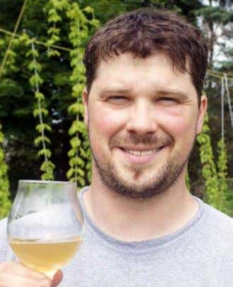 "were endless. It became a great creative outlet."" Brian eckert is living out every homebrewer's dream."