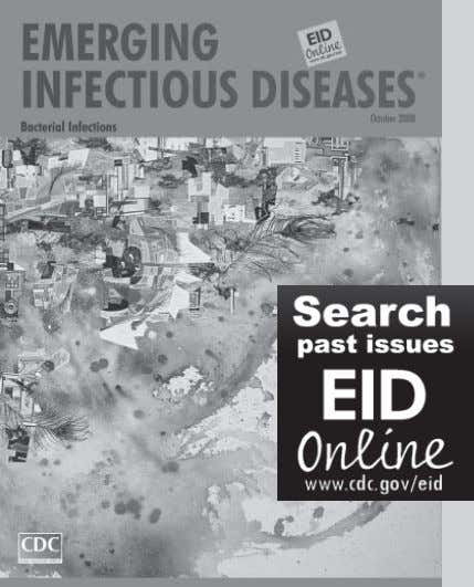 or by the U.S. Department of Health and Human Services. 18 Emerging Infectious Diseases • www.cdc.gov/eid