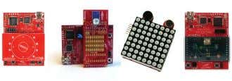 MSP430 MCU Hardware Tools MSP430 is supported by a broad collection of hardware development tools, ranging