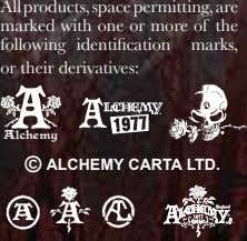 All products, space permitting, are marked with one or more of the following identification marks,