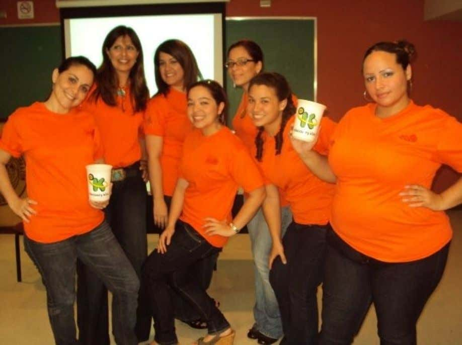 Las naranja's girls