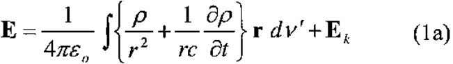 "classical equation for the electric field: This three-term equation is a ""causal"" equation, according to"