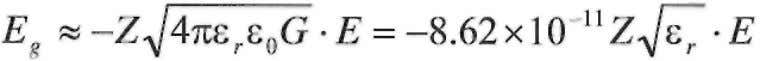 can be approximated from Equations 9 and 11 as new gravitational field is generated to be