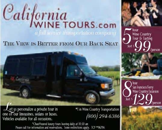 of Wine Country This Week magazine. Wineology is a registered trademark of Len Napolitano. 10 www.WineCountryThisWeek.com