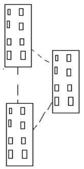 LAN but smaller than WAN. Figure 3.4 shows a CAN network. Fig 4: Campus Area Network