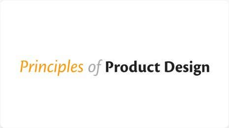 stories on user experience, usability and product design. Principles of Product Design (Article) Great article going