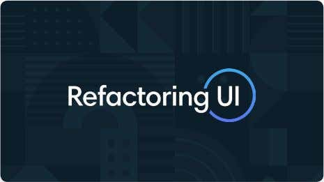 Websites Latest mobile design patterns & elements library refactoringui.com Learn how to design awesome UIs by
