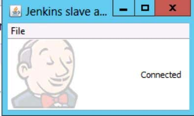 Click on the Acceptance checkbox and click on run. You will now see a Jenkins Slave