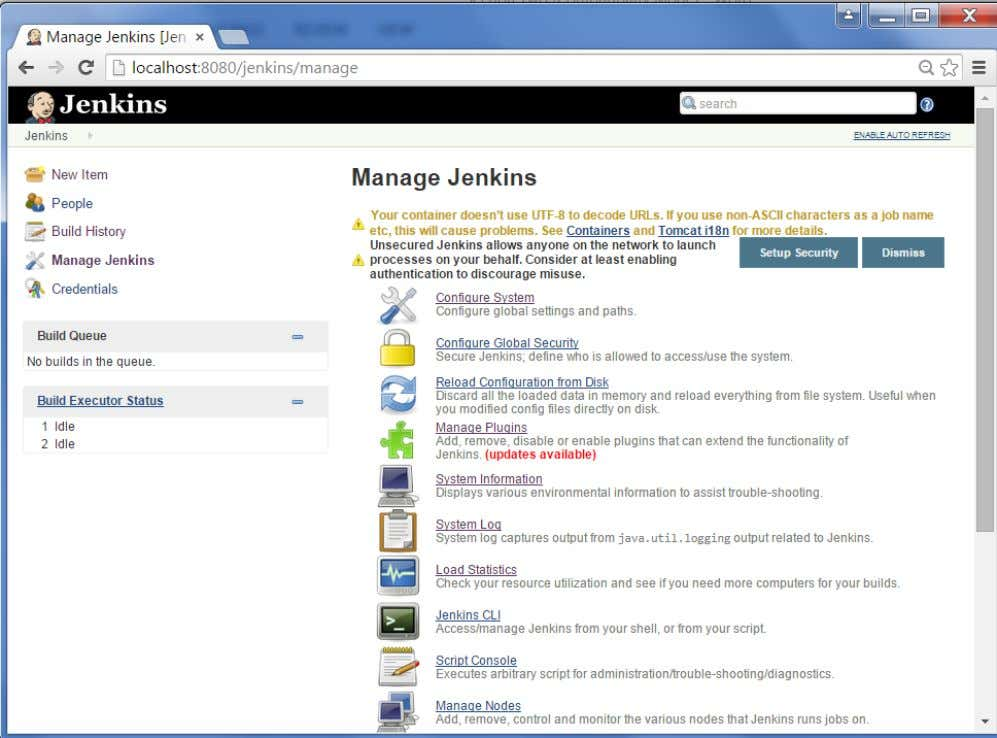 Step 3 : Go to Configure system. Jenkins 56