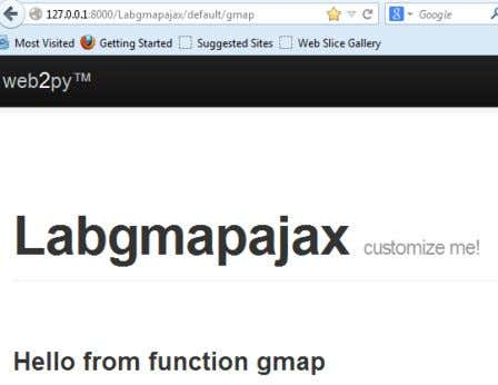 "you get here"" Test out gmap - it should look like this: A DDING HTML TO"
