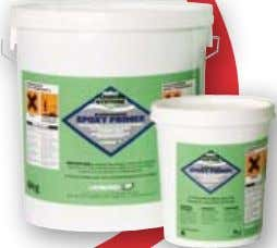 Admixtures & Surface Membranes SCREEDMASTER EPOXY PRIMER tWo coMPoNENt WAtEr dISPErSIBLE PrIMEr recommended as a
