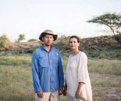 SONIA HARMAND and husband, Jason Lewis, co-direct the West Turkana Archaeological Project that discovered Lomekwi