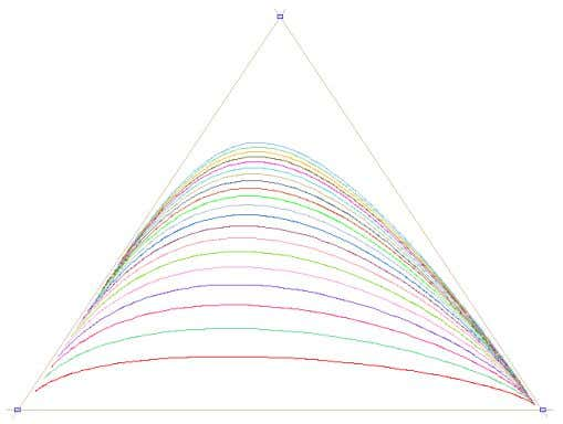 of path curves inside the triangle is indicated as follows: Egg Forms Figure 10 In Figure