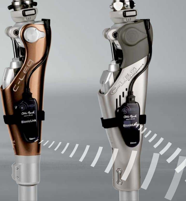 Options BionicLink & C-Soft: The High-Tech Solution for Optimum Settings With the BionicLink (60X3), Otto Bock