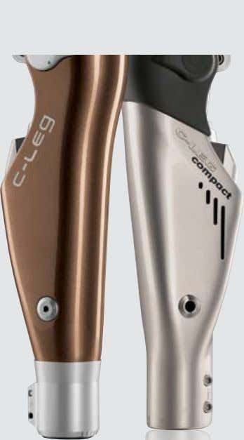 C-Leg® Product Line Pulling together – you, your patient and the new C-Leg®. Achieving the