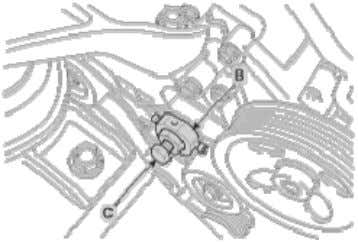 fuel pump remover [SST No.: 09331-1M100] clockwise . Installation 1. Installation is reverse of removal. [Notice]