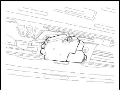 the sunroof. • Damaged to the components may occur. 2. Special Tools 09816-2P100   Power silent