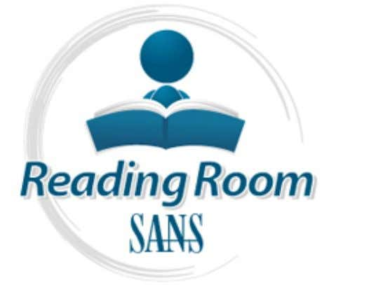 AD Interested in learning more about security? SANS Institute InfoSec Reading Room This paper is from