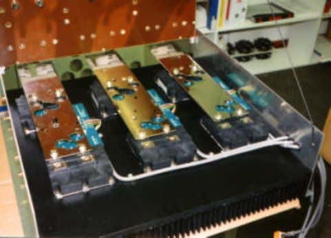 "be sufficient to interfere with operational DC bus voltage. Picture 3: IGBT ""power loss sources"" distributed"