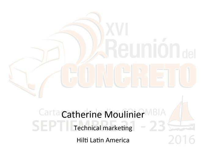 Catherine Moulinier Technical marke2ng Hil2 La2n America