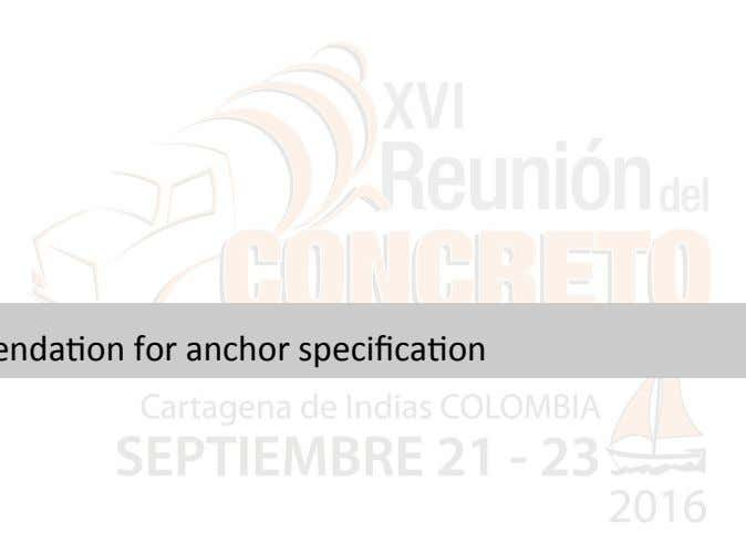 Agenda •   Anchors in seismic •   Approved anchors •   Anchor qualifica2on (including in