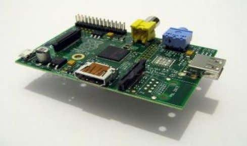by linux IV. BASIC HARDWARE SETUP OF A RASPBERRY PI Figure 4: Raspberry pi Board Raspberry