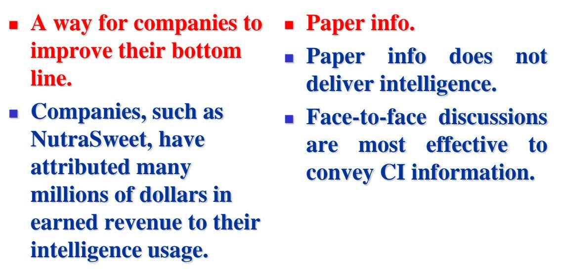 A way for companies to improve their bottom line. Paper info.   Paper info does