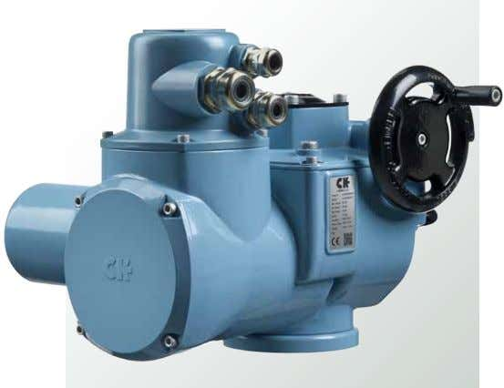 Range Multi-turn Electric Valve Actuators Modular design with plug and socket connections Through the use of