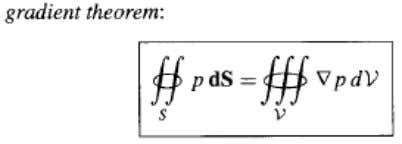sine component of the element under consideration. Theorem connecting the line, surface and volume integral: Mass