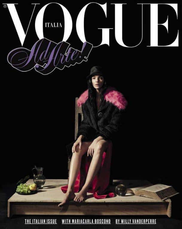 vede il mondo, un mondo nel EVERY COVER TELLS A STORY photo by willy vanderperre. MARIACARLA