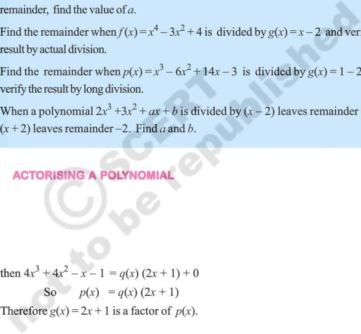 FFFFFAAAAACTCTCTCTCTORISINGORISINGORISINGORISINGORISING AAAAA POLPOLPOLPOLPOLYNOMIALYNOMIALYNOMIALYNOMIALYNOMIAL then 4x