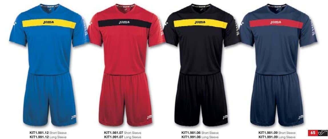 KIT1.981.12 Short Sleeve KIT1.991.12 Long Sleeve KIT1.981.07 Short Sleeve KIT1.991.07 Long Sleeve KIT1.981.06 Short