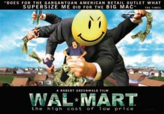 Cost of Low Price (Tartan DVD. A Robert Greenwald Film) ALMOST EVERYONE has heard of Walmart