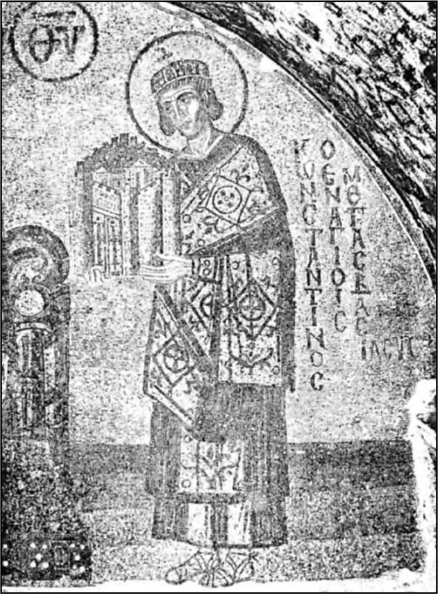 The Wisdom of the Knowing Ones Constantine the Great From a mosaic at St. Sophia in