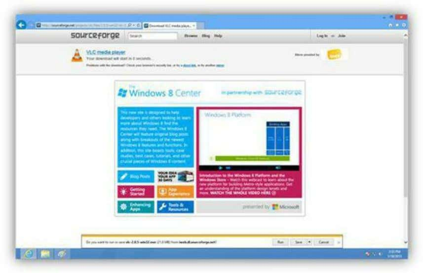 Figure 115: Download File Dialog Box You can click the View Downloads button to view