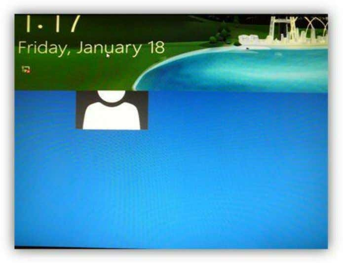 left-click and drag up with your mouse. Touch and slide up on the lock screen while