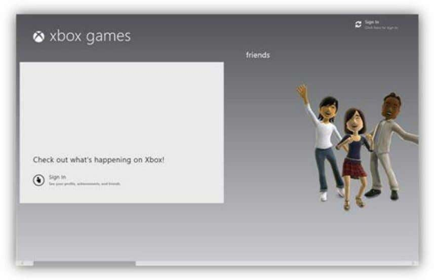 to the left side of the screen you will be able to sign into Xbox Live