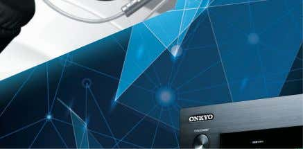 Audio/Video Products 2014-2015 New Dimensions in Sound www.intl.onkyo.com