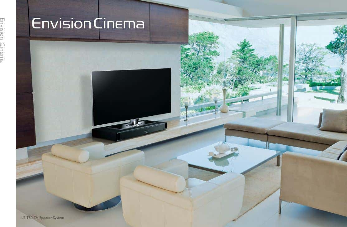 LS-T30 TV Speaker System Envision Cinema