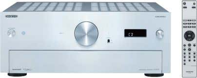 • A-9070 Integrated Stereo Amplifier SILVER BLACK • 140 W/Ch (4 Ω, 20 Hz–20 kHz, 0.05%,