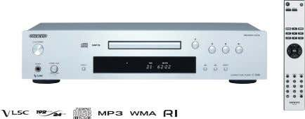 x 307 mm • 4.9 kg C-7030 Compact Disc Player SILVER BLACK • Plays Audio CD,
