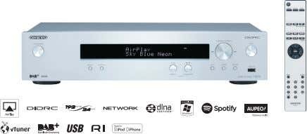 Full-Flat Chassis T-4070 Network Tuner SILVER BLACK • DIDRC (Dynamic Intermodulation Distortion Reduction