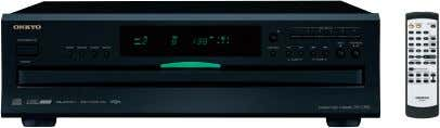 Audio Terminals DX-C390 6-Disc CD Carousel Changer SILVER • Plays Audio CDs, MP3-Encoded CDs, CD-R/RWs •