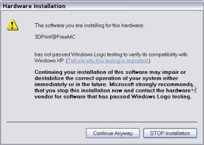 Anyway‖ , and the drivers will install automatically. If you have any problems installing the drivers,