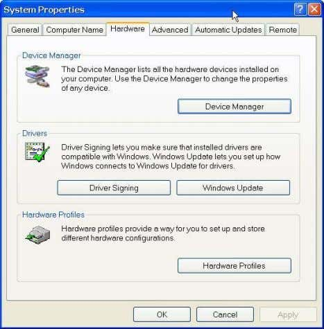 4. Troubleshooting 2. Click ―Device Manager‖ button, and the following dialog box will popup. Find the