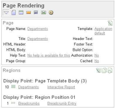 Modifying the Departments Report 3 . Click Departments . 4. Scroll down to Source, and replace