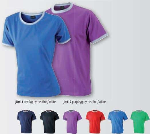 JN013 royal/grey-heather/white JN012 purple/grey-heather/white