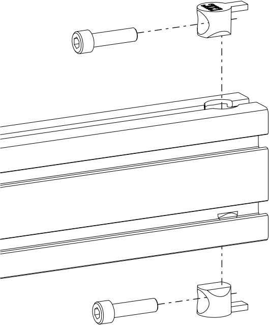 PRO Series 4848 Assembly 1.1. TABLE LEG ASSEMBLY • Install anchor fasteners as indicated. PRO Series