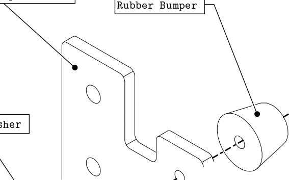 PRO Series 4848 Assembly 2.2. TABLE BUMPERS • Attach the rubber bumper to the bumper plate